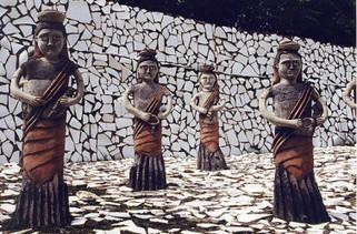 Rock Garden : la plus grande œuvre d'art réalisée à partir de déchets recyclés | Histoire des arts 3e | Scoop.it