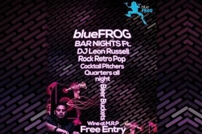 Enjoy The blueFROG Bar Night with DJ Leon Russell Live in Mumbai, DJ Night in Mumbai,Clubs in Mumbai - Oysterz.in | Nightlife Events in Pune,DJ Party in Mumbai, Nightclubs in Pune | Scoop.it