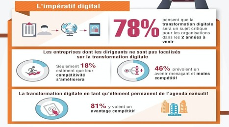 La transformation digitale résumée en 6 infographies  | LAB LUXURY and RETAIL : Marketing, Retail, Expérience Client, Luxe, Smart Store, Future of Retail, Commerce Connecté, Omnicanal, Communication, Influence, Réseaux Sociaux, Digital | Scoop.it