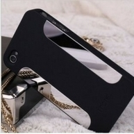 Black and silver reflective iPhone 4, 4S protective case | Apple iPhone and iPad news | Scoop.it