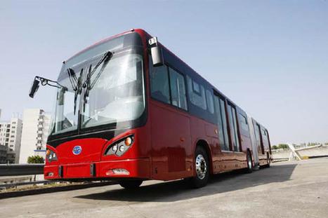 BYD Develops World's First Articulated BRT Electric Bus - EVWORLD.COM | Transportation Station | Scoop.it