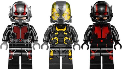 Vous avez loupé Ant-Man ? Voici son trailer, mais en Lego | Connected objects and Geek stuff | Scoop.it