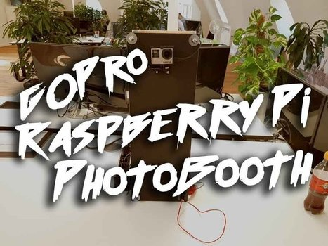 Photobooth: GoPro + Raspberry Pi | flazer.com | Raspberry Pi | Scoop.it