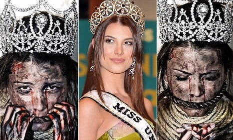 Venezuelan beauty queen poses in her crown bound and gagged | Voices for Those Without Them | Scoop.it