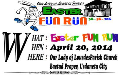 Easter Fun Run – April 20, 2014 | Festival Holidays | Scoop.it