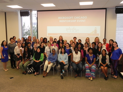Girls Who Code Yield Women in STEM – Microsoft Chicago | Soup for thought | Scoop.it
