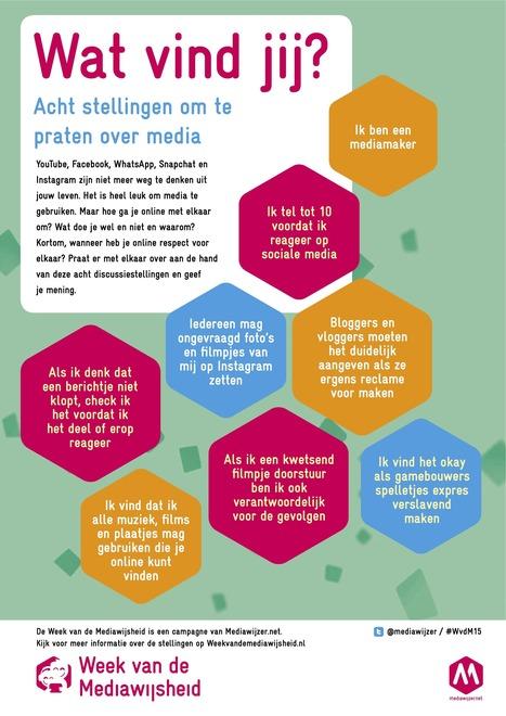 Stellingen - Week van de Mediawijsheid | Mediawijsheid in het onderwijs | Scoop.it