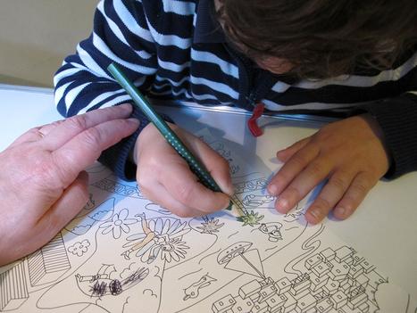 Beneylu Pssst - Le coloriage fait son come-back à l'école primaire | Les troubles de l'écriture | Scoop.it