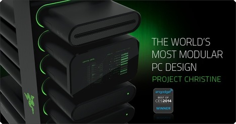 Project Christine by Razer - The World's Most Modular PC Design - Razer United States | Electronics and Internet | Scoop.it