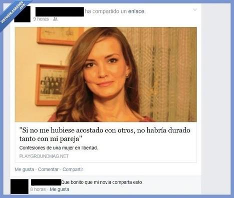 Sabes que tienes más cuernos que un toro cuando te pasa esto en Facebook | Humor24h | Scoop.it