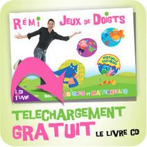 Comptines et Jeux de Doigts | Bienvenue sur le site de Rémi, le chanteur des tous petits… | FLE enfants | Scoop.it
