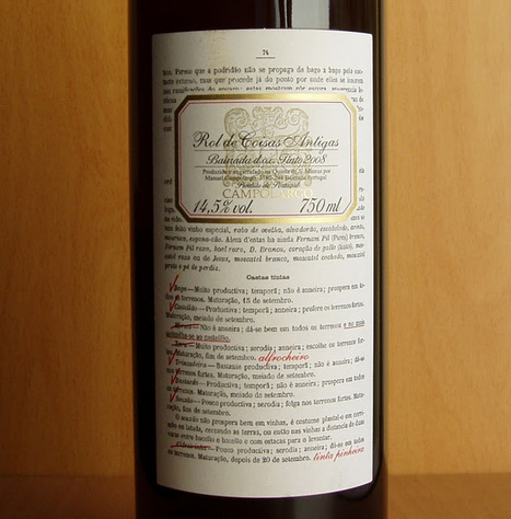 O Puto (Bebe): Rol de Coisas Antigas '2008 | Wine Lovers | Scoop.it