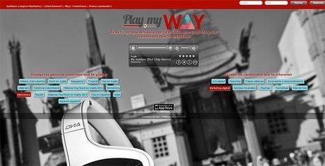 PlayMyWay te permite crear tu emisora con la música que más te gusta | UTN Virtual Mendoza | Scoop.it