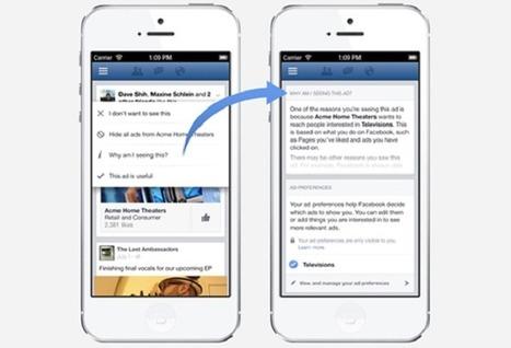 Facebook utilisera VOTRE historique de navigation pour adapter sa publicité | Machines Pensantes | Scoop.it