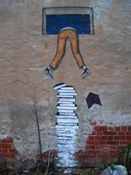 25 hilarious street art and mural works about books, libraries and reading | Information Literacy High School | Scoop.it