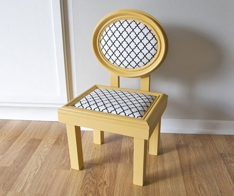 Thrifted Picture Frame Kid Chair   How To   Upcyclin'   Scoop.it