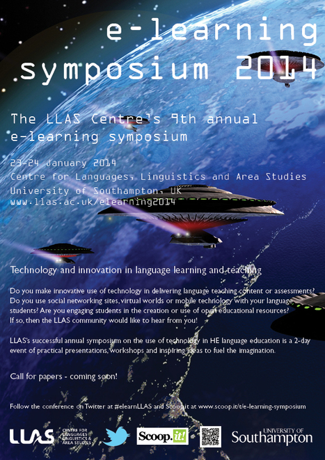 LLAS e-learning symposium 2014 | call for papers - coming soon! | e-learning symposium | Scoop.it