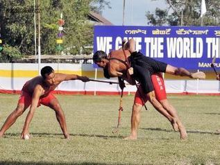 Manipuris promote their cultural heritage through traditional sport of ... - ANINEWS | Traditional Games and Ethnosport | Scoop.it