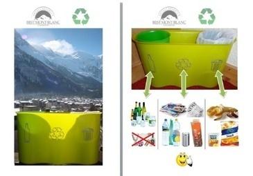 Les clients de Best Mont Blanc participent au tri sélectif | Développement durable et tourisme | Scoop.it