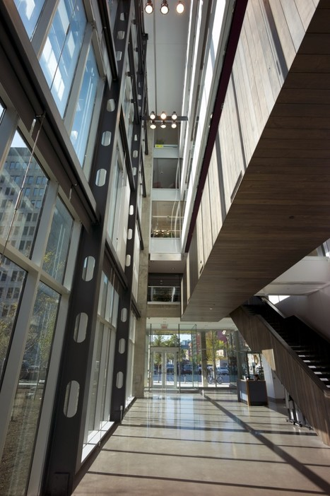 Montreal's Centre for Sustainable Development opens its doors | sustainable architecture | Scoop.it
