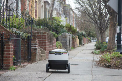 Coming Soon to D.C. Sidewalks: Delivery Robots | Delivery | Scoop.it