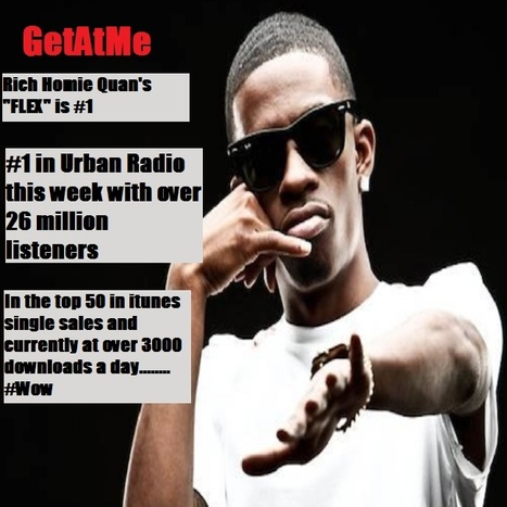 "GetAtMe Rich Homie Quan ""FLEX"" is #1 The people have spoken......... 