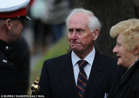 Grandfather's grief etched on his face as cortege for Marine killed in Afghanistan brings his hometown to a standstill | Race & Crime UK | Scoop.it