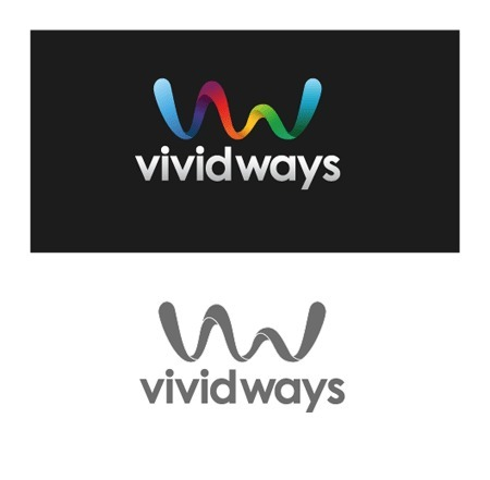 Logo Design Process and Walkthrough for Vivid Ways | Beautiful and creative logos | Scoop.it