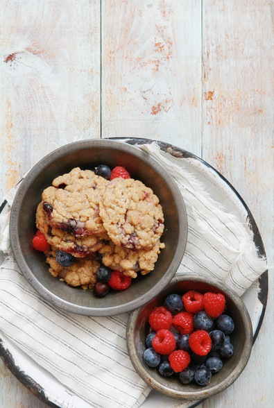 Blueberry Muffin Cookies | Bakers Royale | SFO_Marketing | Scoop.it