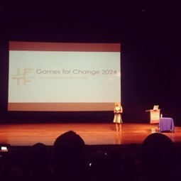 Jane McGonigal and Games for Change in 2024 - Gamification Co | tecnología industrial | Scoop.it