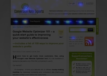 15 tools that reveal why people abandon your website | Conversion Rate Experts | Local Search Marketing Ideas | Scoop.it