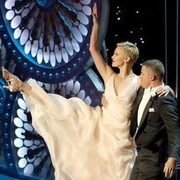 Charlize Theron: I Was Tricked Into Dancing at the Oscars! | Dance TV and Film News | Scoop.it