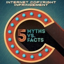 Copyright Infringement: 5 Myths vs Facts | Visual.ly | Library and information skills | Scoop.it