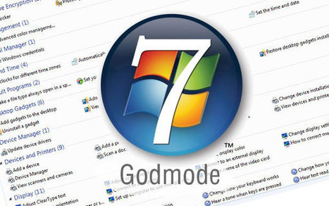 Modo dios en windows 7 | | SSOOM | Scoop.it