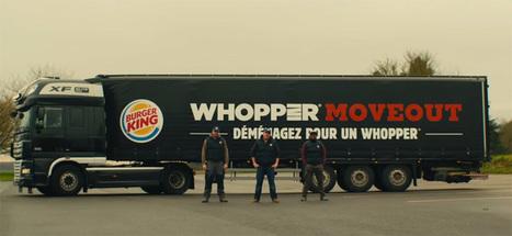 Burger King offre le déménagement prêt d'un de ses restos à 3 fans - Déménagement Devis | Restauration, quand le digital relève le plat... et crée le trafic. | Scoop.it