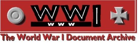 1914 Documents - World War I Document Archive   WW-I   Scoop.it