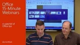 Office 15-Minute Webinars - YouTube | More TechBits | Scoop.it