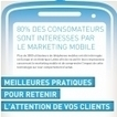 Infographie : Les bonnes pratiques du marketing mobile | WE3 &Co - Web marketing E-communication 3.0 &Co | Scoop.it