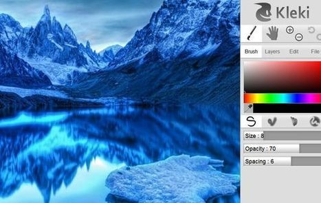 Kleki, una aplicación de dibujo online para artistas y aficionados | Top CAD Experts updates | Scoop.it