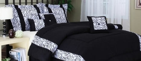 Creating Innovative Space Using Exotic Zebra Print Bedding | Bedroom Decor | Scoop.it
