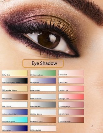 Glam Air Airbrush E17 Sea Shell Eye Shadow Water-based Makeup | Online Makeup Store | Scoop.it