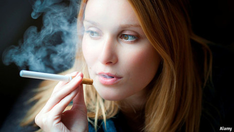 E-cigarette patent wars: A case of the vapers | The Economist | Electronic Cigarette | Scoop.it