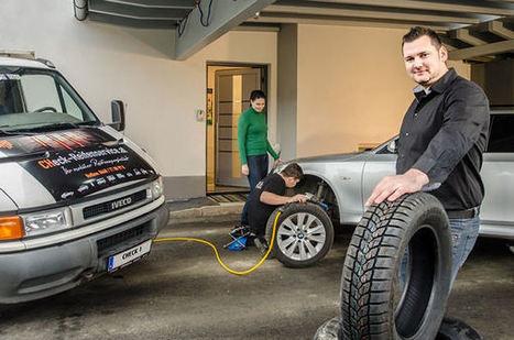 Jetzt gibt's den ReifenDirekt-Mobilservice auch in Österreich : Reifenpresse | Influence | Scoop.it