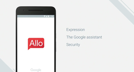 Allo : Google dévoile sa messagerie intelligente - Tech - Numerama | Marketing - advertising - mobile | Scoop.it