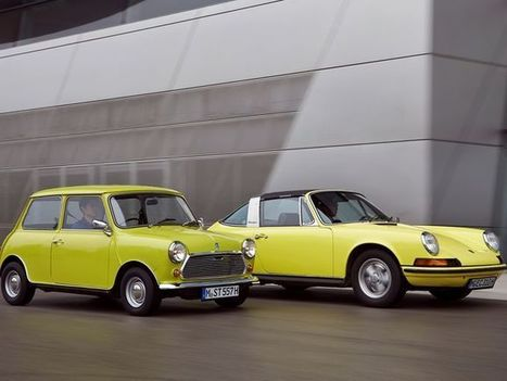 Gallery: Mini wishes happy birthday to Porsche 911 - USA TODAY | European Autos | Scoop.it