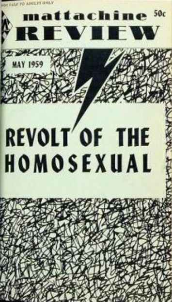 When Gay Rights Groups Were Still Part of the Left | Sex History | Scoop.it