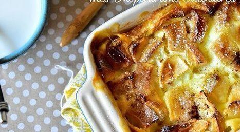 Clafoutis aux pommes | Desserts - Mousses - PannaCotta - glaces | Scoop.it