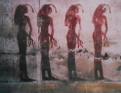 Four Egyptian Mourners, Four Egyptian Locks of Hair. | Egyptology | Scoop.it