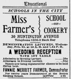 Fannie Farmer, the mother of level measurements | Herstory | Scoop.it