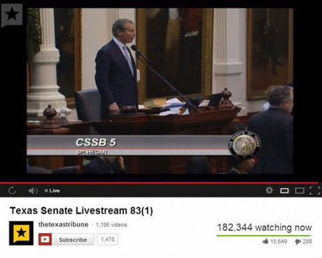 The Revolutions Will Not Be Televised: Ten Things We Learned About the Internet During the Wendy Davis Filibuster | Internet Technologies | Scoop.it